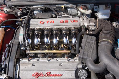 Alfa Romeo GTA V6 engine