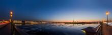 Sunset In St. Petersburg, Russ...