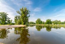 Panoramic View On Oxbow Lake O...