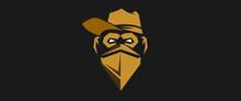 Yellow Masked Monkey, Vector I...