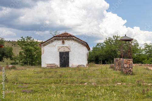Obraz na płótnie Buhovo Monastery dedicated to Saint Mary Magdalene, Bulgaria