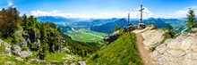 View At The Kranzhorn Mountain...