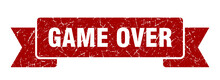 Game Over Ribbon. Game Over Gr...