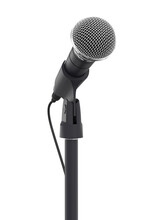 Microphone Isolated On White B...