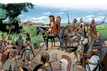 Hannibal Arrives In Rome During The Second Punic War