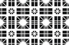 A Black And White Symmetrical ...