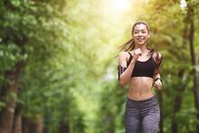 Healthy Lifestyle. Sporty Asia...