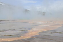 Grand Prismatic Spring, Yellow...
