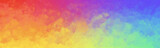 Fototapeta Rainbow - Colorful watercolor background of abstract bright rainbow colors of red orange green blue yellow blue and purple