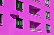 canvas print picture - Multistorey concrete apartment