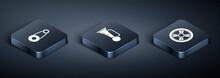 Set Isometric Timing Belt Kit,...