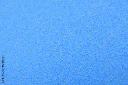 Valokuva embossed grained leather texture with veins blue surface