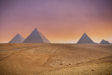 The Great Pyramids Of Giza And...