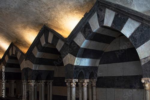 Obraz na plátně CAMOGLI, GENOA, ITALY June 21, 2020, Abbey of S