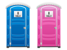 Portable Restroom Set