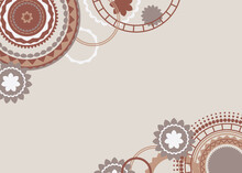 Abstract Brown Background Desi...