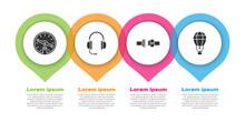 Set Compass, Headphones With M...