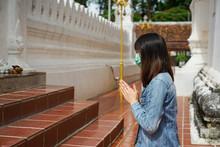 Young Asian Woman Tourist Wear...