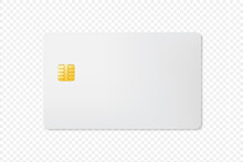 3D Mock Up Blank Credit Card W...