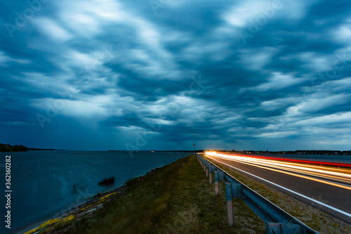 The front of the thunderstorm is fast approaching Wallpaper Mural