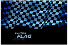 Racing Checkered Flag Backgrou...