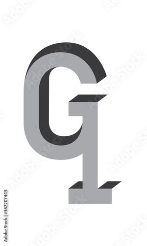 3D G1 Logo Wallpaper Mural