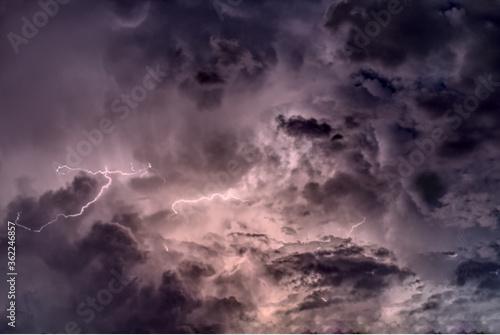 Fotografie, Obraz Evil Stormy Sky