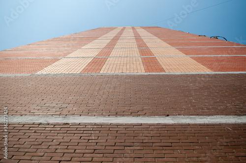 Photo red brick wall