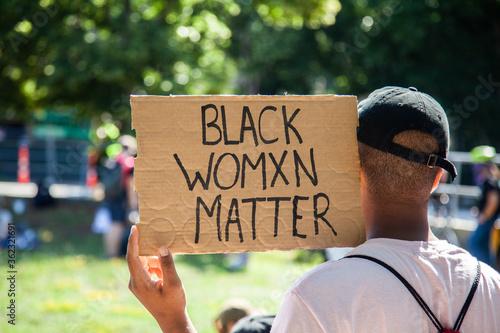 Fényképezés Black Womxn Matter