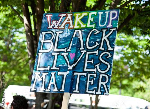 Wake Up Black Lives Matter Tapéta, Fotótapéta