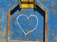 Concept Of Urban Decay. Heart ...