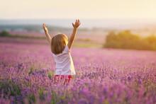 Little Girl Enjoy Nature On Me...
