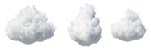3d Render. Abstract Fluffy Whi...