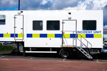 Police Incident Mobile Vehicle For Crime Investigation