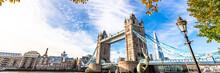 Tower Bridge In London, UK, Un...