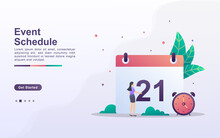 Landing Page Template Of Event...