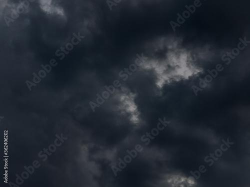 Photo Czarne, złowrogie chmury.