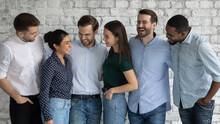 Six Multiracial Millennial Men...