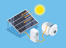 Solar Cell Water Pump Simple S...