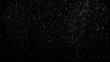 glitter magic sparkling stars powder splash vintage on black