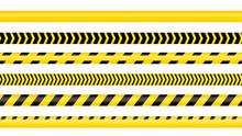 Police Tape, Crime Danger Line...