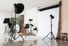 Interior Of Photo Studio With ...