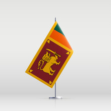 Sri Lanka Flag State Symbol Is...