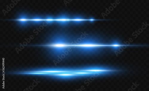 Fotografía Vector light blue special effect