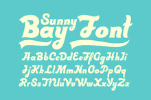 Bold Script Font With Calligra...