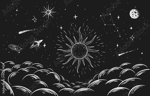 Fotografía constellation in space