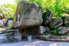 Scylla's Grotto In Sofiyivka Park In Uman, Ukraine