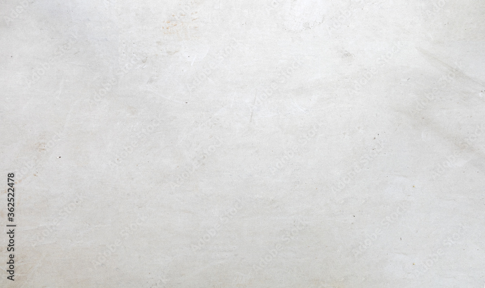 Fototapeta white cement wall background. top view