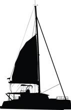Sailing Boat Catamaran