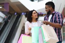 Happy African Couple Spending ...